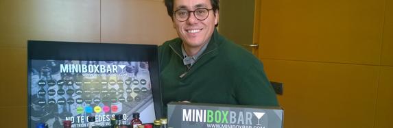 MiniBoxBar, la cocteleria a casa
