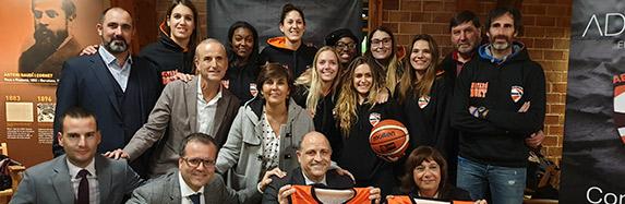 ADVISORIA patrocina el primer equip femení de bàsquet de l'AE Boet