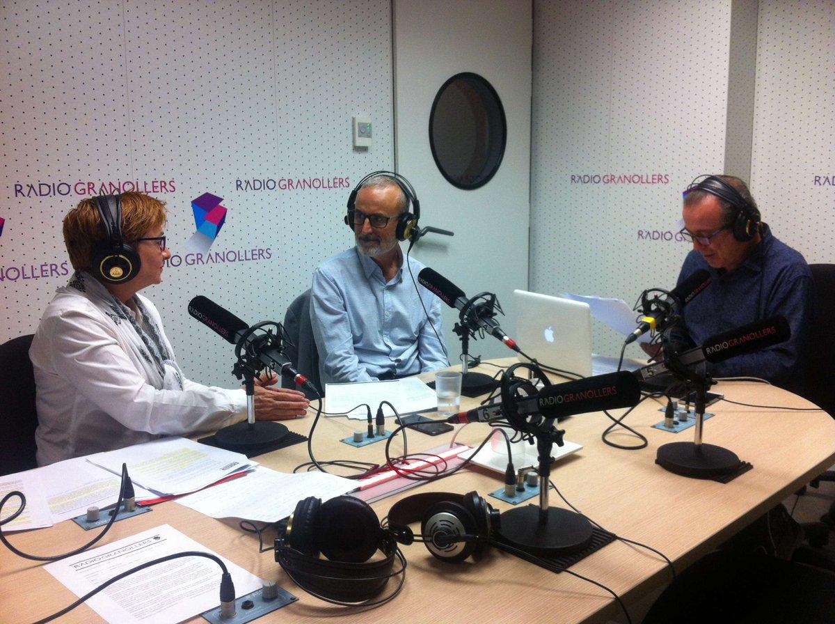 Valentí Sánchez explica les novetats del control horari en les jornades laborals a Ràdio Granollers